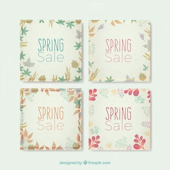Cute spring sale cards pack