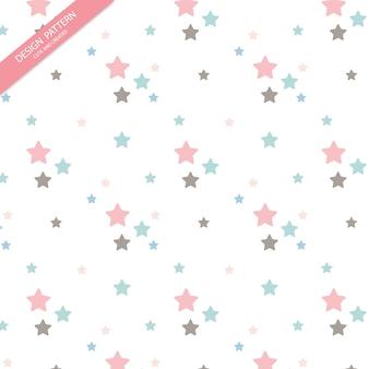 Cute star pattern.