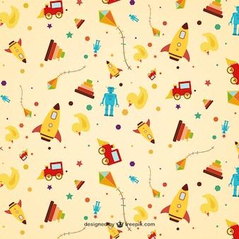 Cute toys pattern