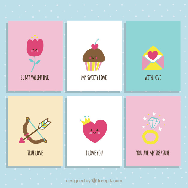 Cute Valentine Day Cards Collection