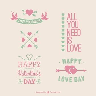 Cute Valentine greetings