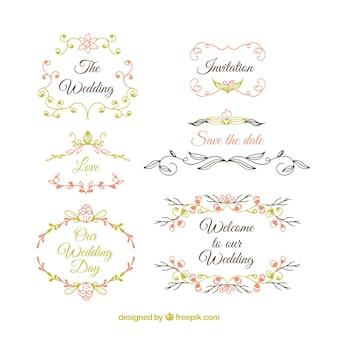Cute wedding ornaments