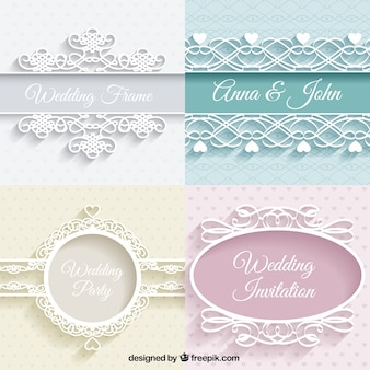 Cute weddings ornaments