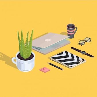 Cute workspace