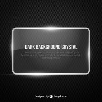Dark background banner