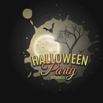 Dark background for halloween party