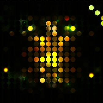 Dark background with light spots