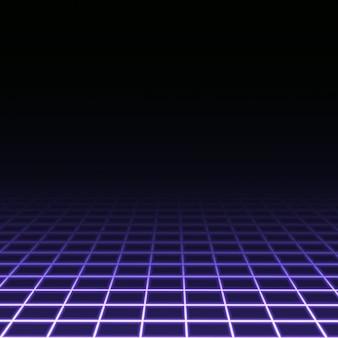 Dark background with purple squares