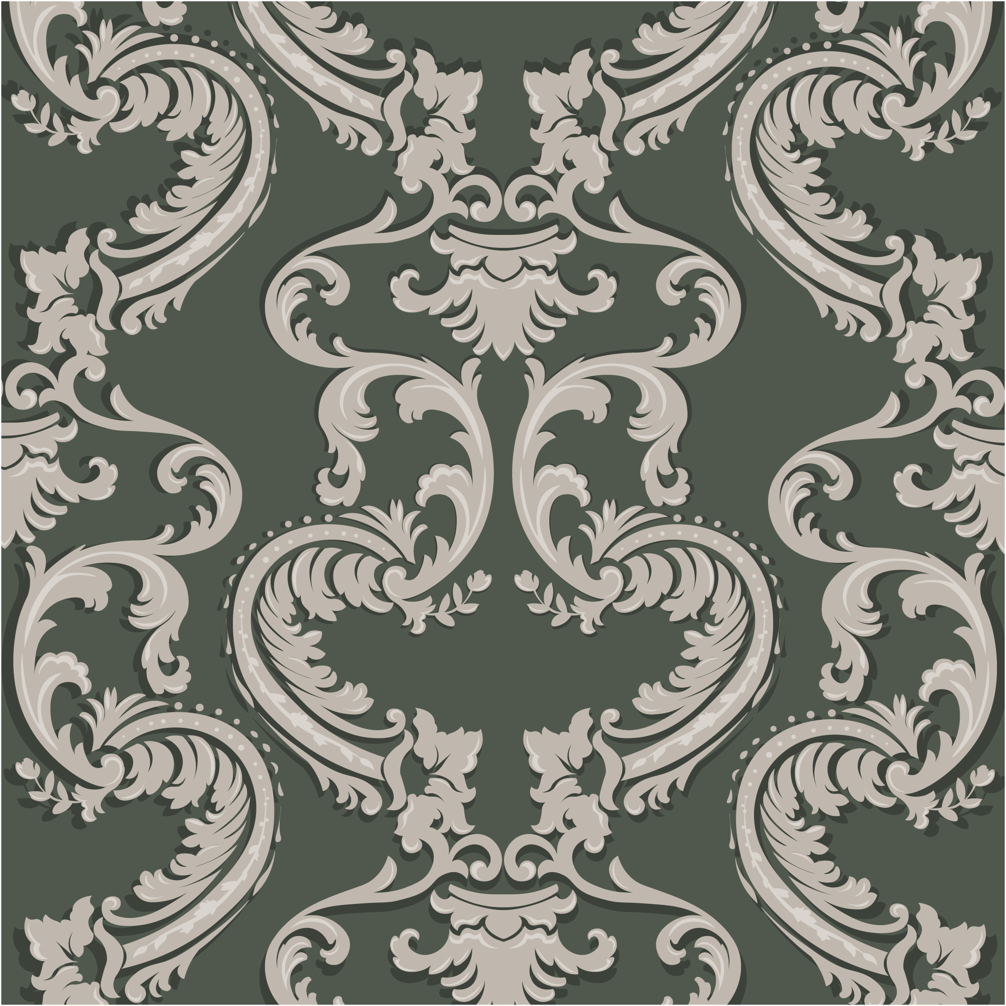 Dark colors ornamental pattern background