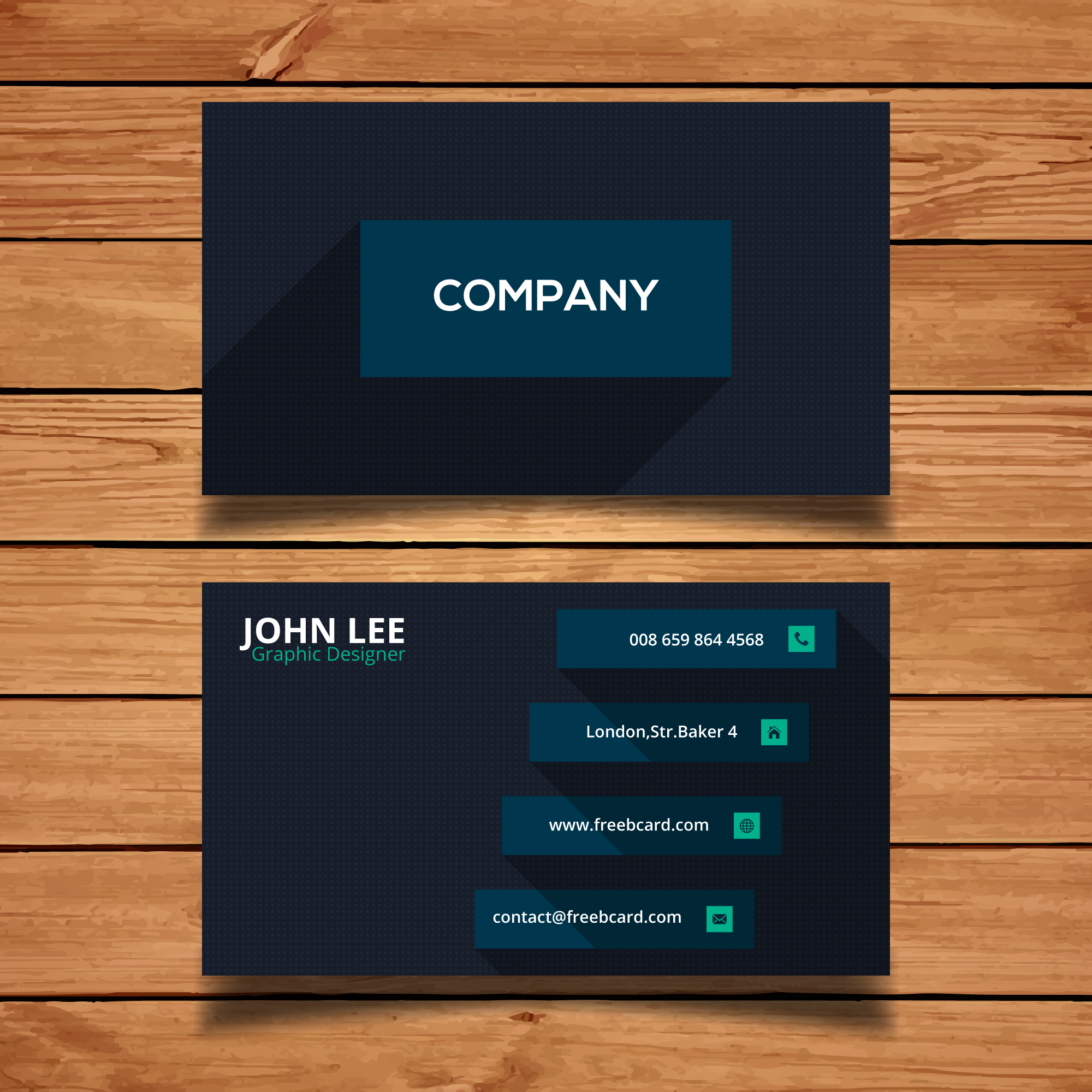 Dark corporate card