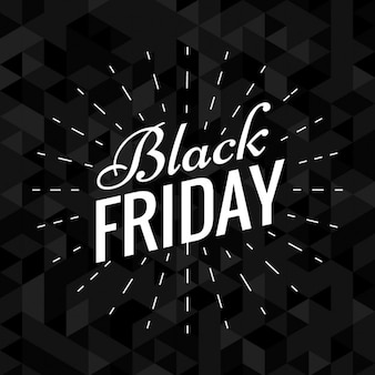 Dark elegant black friday background
