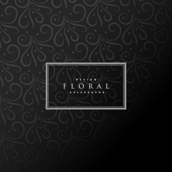 Dark floral background