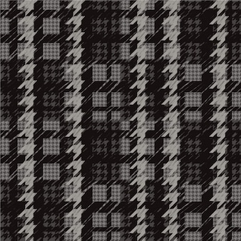 Dark houndstooth pattern