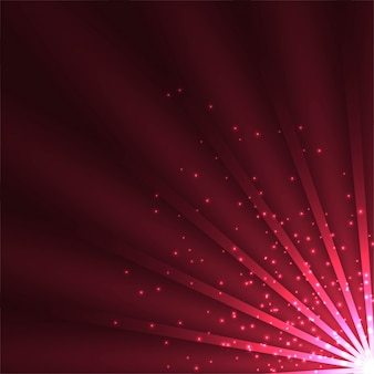 Dark red shiny lights background