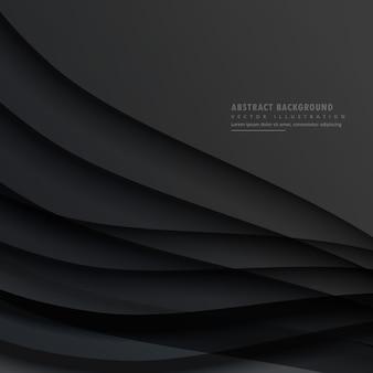 Dark wavy background