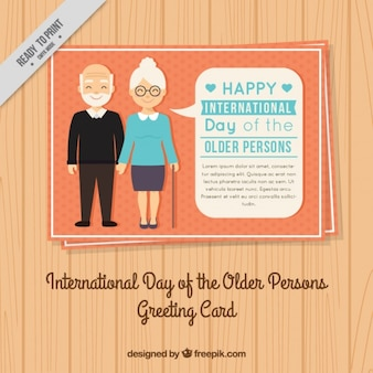 Day of the older persons card