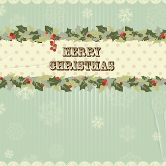 Decoration invitation traditional christmas new