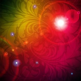 Decoration vignette pattern curve silk