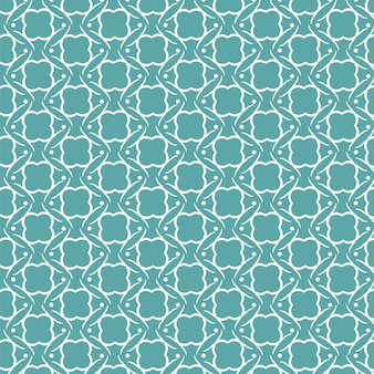 Decorative background with a teal and white pattern