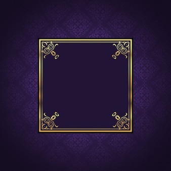 Decorative background with an elegant frame