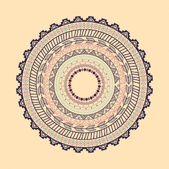 Decorative boho style background