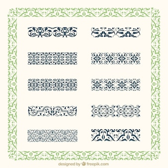 Decorative border collection