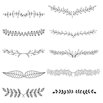 Decorative branches collection