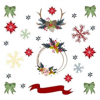 Decorative christmas elements