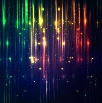 Decorative colorful shiny lights background