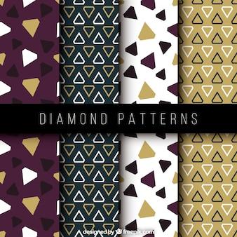 Decorative diamond pattern pack