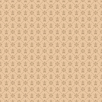 Decorative fleur de lis seamless tile wallpaper