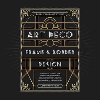 Decorative frame design
