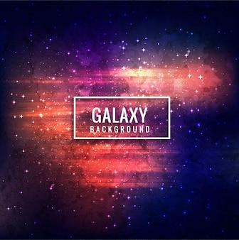 Decorative galaxy background