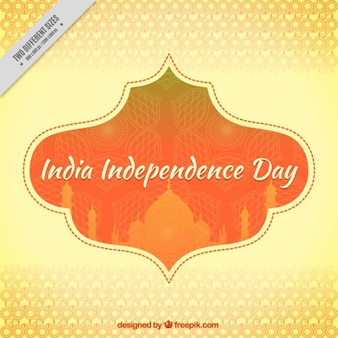 Decorative india independence day background