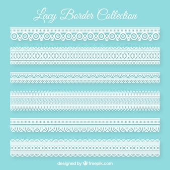Decorative lace borders pack