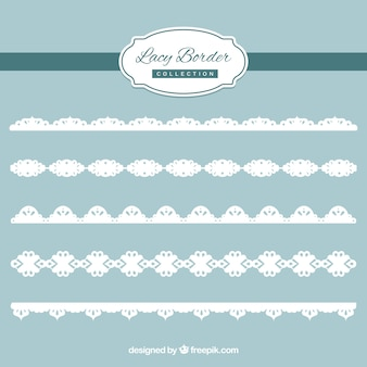 Decorative lace edge pack