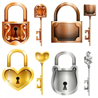 Decorative locks collection