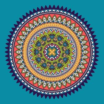 Decorative mandala illustration