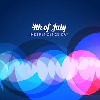 7月のデザインの背景のベクトル抽象的な