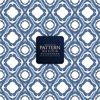 Decorative modern seamless pattern background