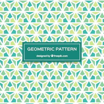 Decorative mosaic pattern with abstract design