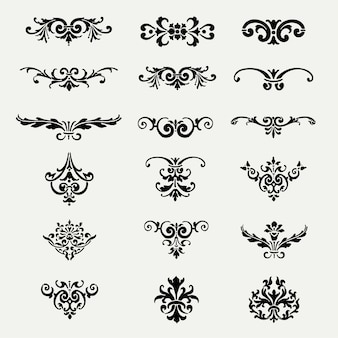 Decorative ornaments collection