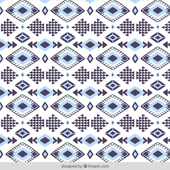 Decorative pattern of diamonds and geometric shapes