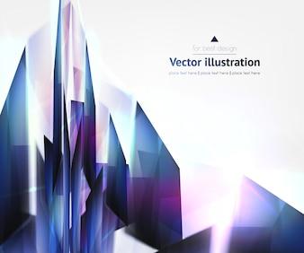 Decorative presentation urban wallpaper composition
