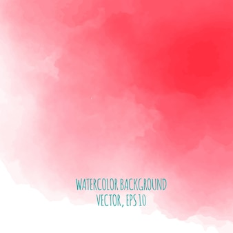 Decorative red watercolor background