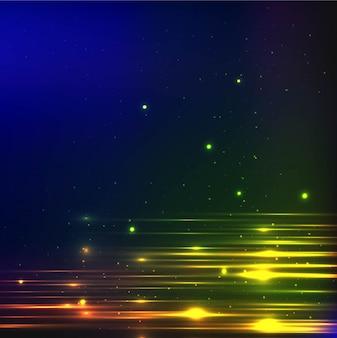 Decorative shiny lights background
