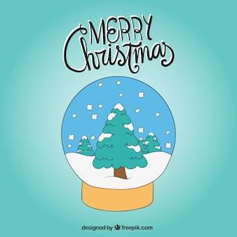 Decorative snow ball
