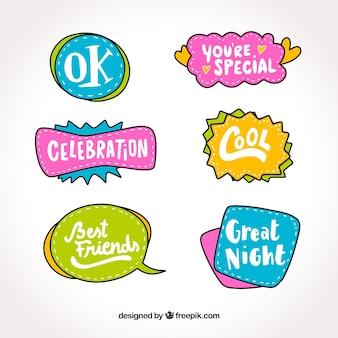 Decorative sticker collection