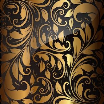 Decorative swatch antique seamless silk