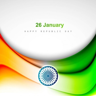 Decorative tricolor Indian background